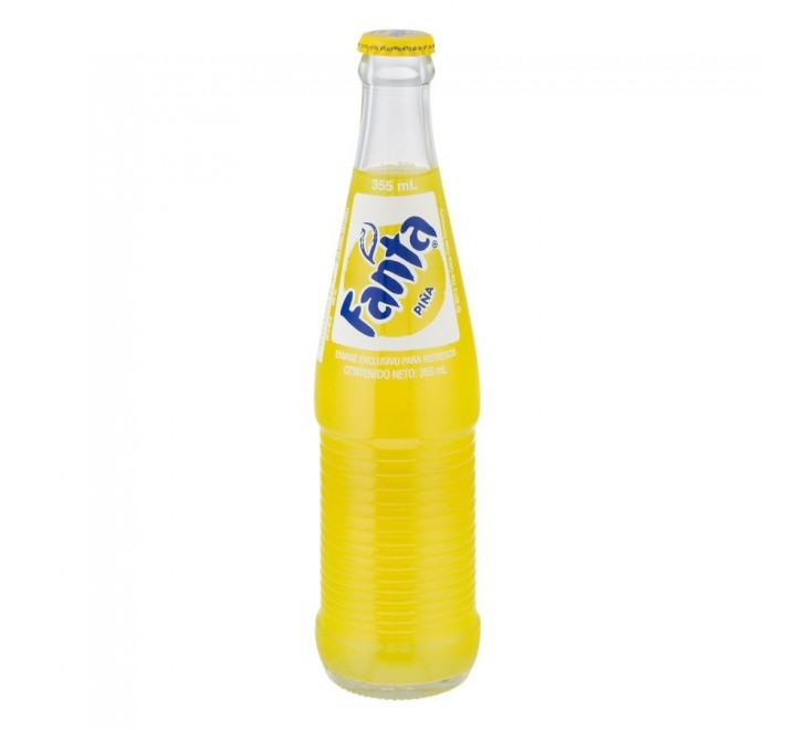 Fanta Pineapple, Glass Bottle (355ml)