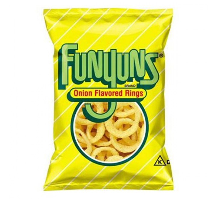 FritoLay FunYuns Onion Flavored Rings (163g)