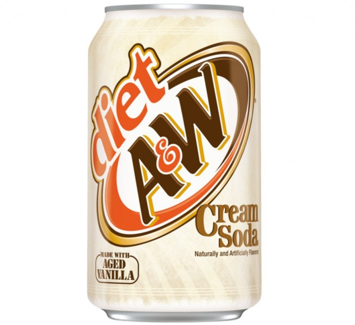 A&W Cream Soda, Diet