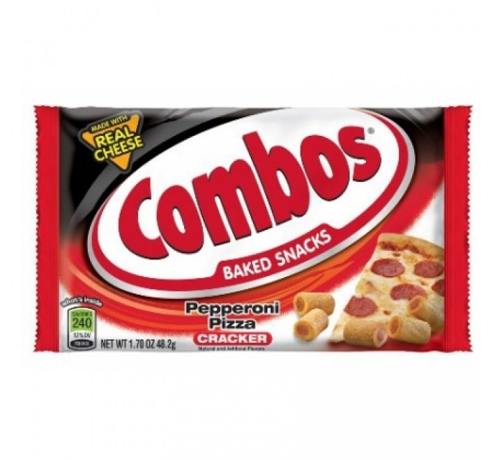 Combos Pepperoni Pizza, Baked Cracker (48g)