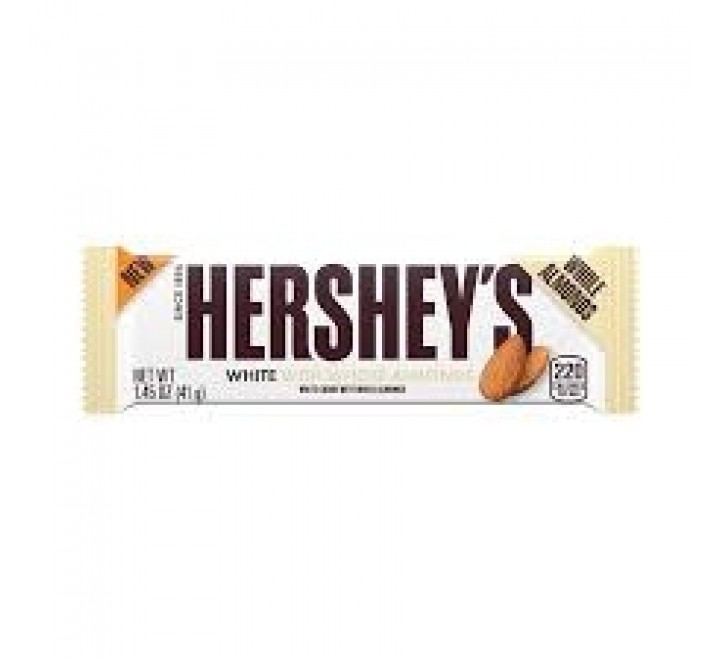 Hershey's White With Whole Almonds  (41g)