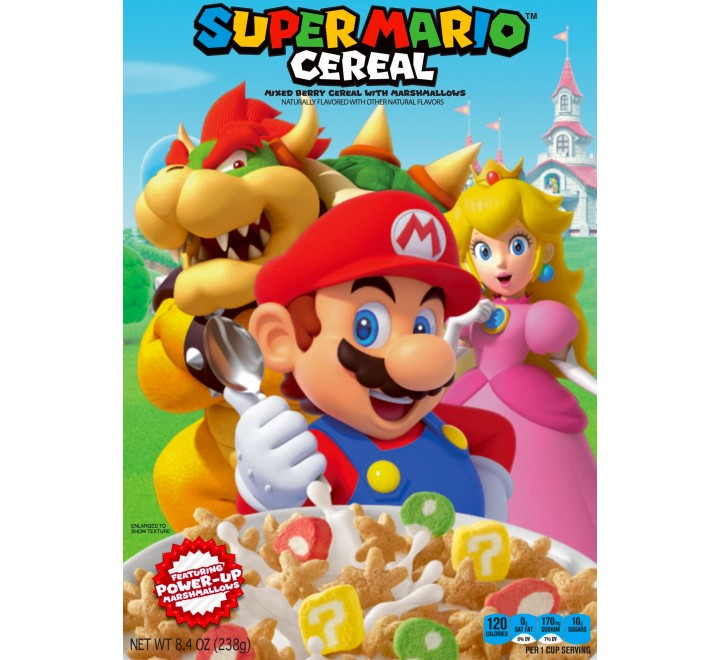 Super Mario Cereal (238g) USfoodz