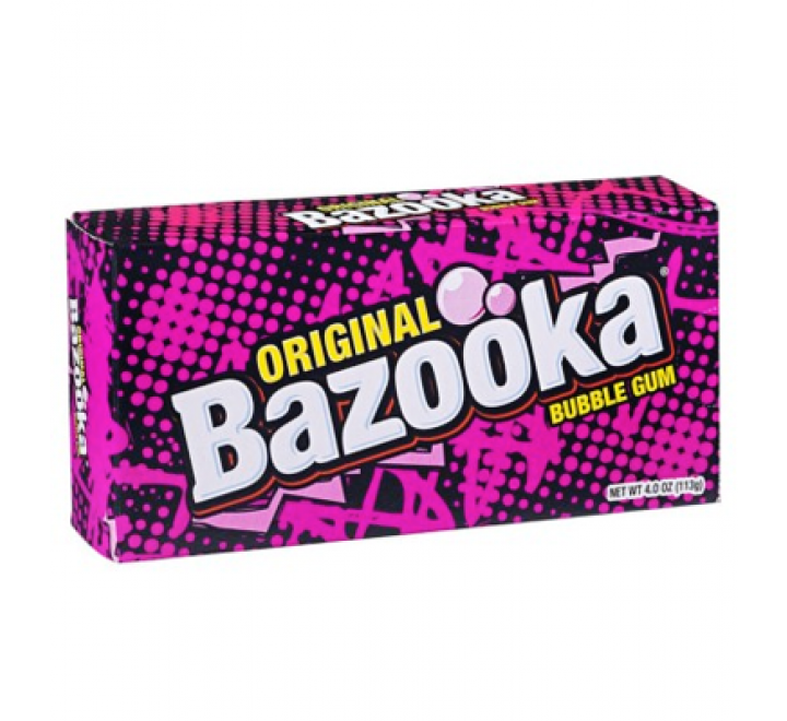 Original Bazooka Bubble Gum (113g)