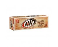 A & W Cream Soda No Caffeine (355ml)