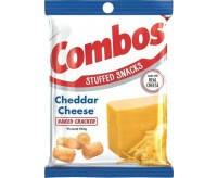 Combos Stuffed Snacks, Cheddar Cheese Baked Cracker (178g)