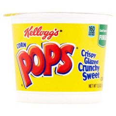 Kellogg's Corn Pops Cereal, Cup (42g)