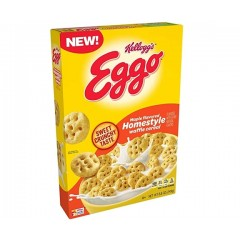 Kellogg's Eggo Maple Flavored Homestyle, Waffle Cereal (249g) (BEST BY 06-03-2021)