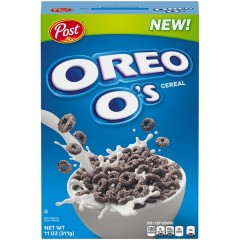 Post Oreo O's Cereal (311g) (BEST-BY DATE: 06-08-21)