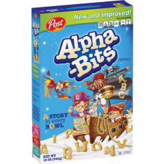 Post Alpha-Bits Cereal (340g)