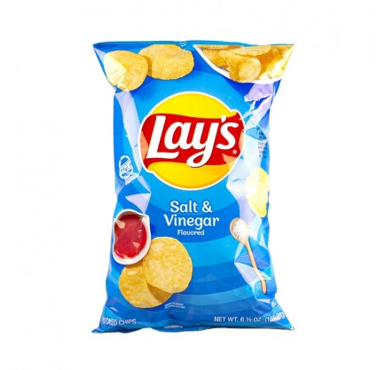 Lay's Salt & Vinegar (184g)